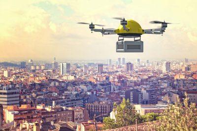 drone de entrega